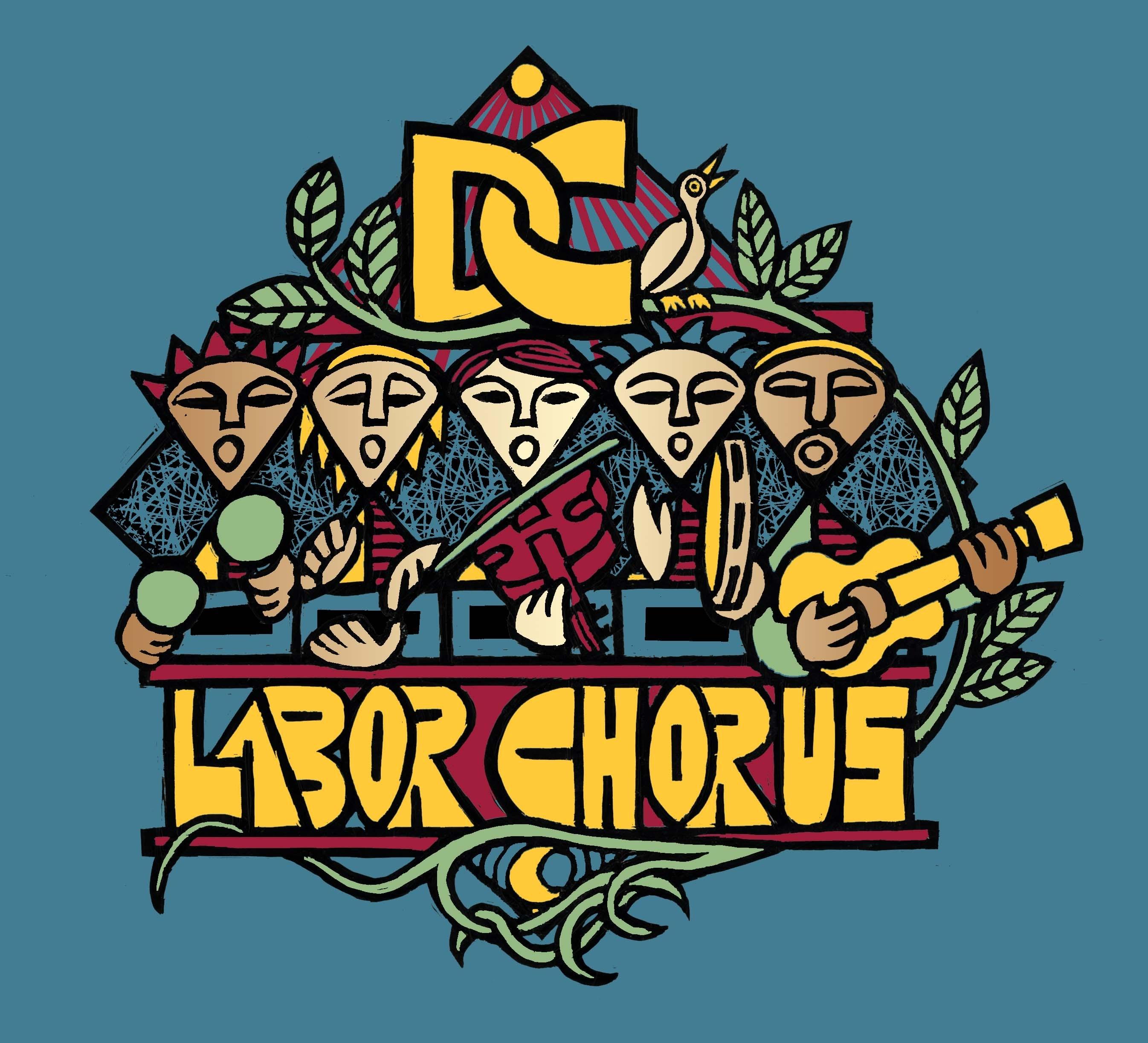 DC Labor Chorus Logo (Blue)