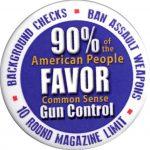 90percent favor gun control